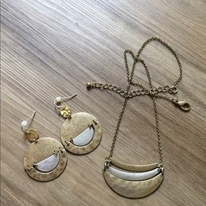 Bundle of 2 Gold and Silver-Tone Jewelry Set